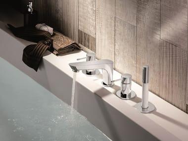Set vasca a 4 fori con doccetta O'RAMA | Set vasca a 4 fori