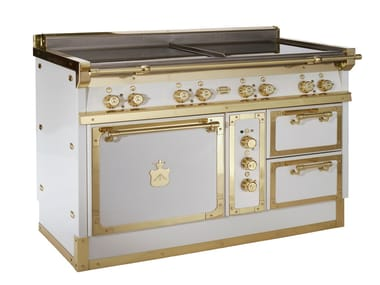 Cocina OG128 | White and Polished brass