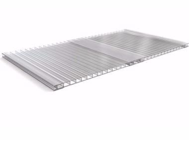 ONDUCLAIR PCMW | Roof panel in translucent plastic laminate