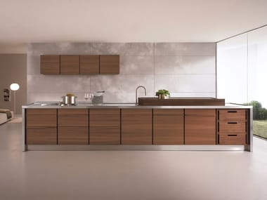 Linear fitted kitchen ONLY-ONE