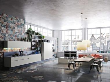 ORANGE EVOLUTION   Linear kitchen By Snaidero