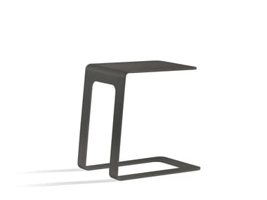 Low aluminium garden side table OUTDOOR SIDETABLE | Open 32