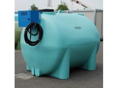 Vasca, cisterna e serbatoio per opera idraulica SERBATOIO IN POLIETILENE PER ACQUA
