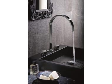 Rubinetto per lavabo a 3 fori da piano PARK | Rubinetto per lavabo