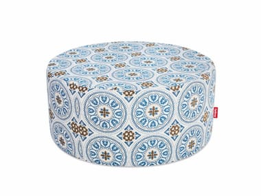 Upholstered fabric pouf PFFFH
