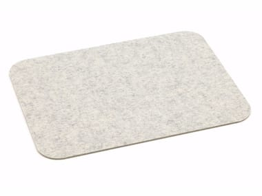 Mantel individual de fieltro PLACEMAT WITH ROUNDED CORNERS