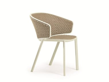 Stackable garden chair PLUVIA