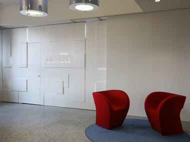 Movable design partitions Shine Walls PMD - DESIGN