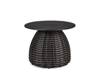 Round garden side table PORCINI | Coffee table