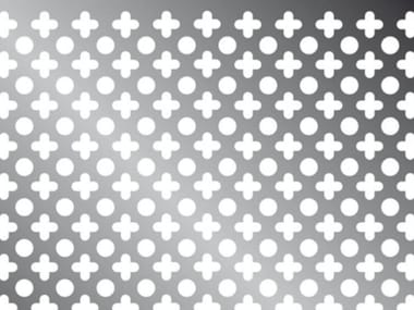 Patterned holes