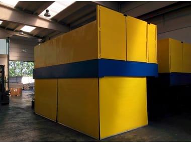 Piattaforma a pantografo per carico e scarico merci Piattaforme di carico/scarico