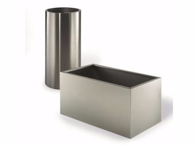 Stainless steel planter Planter
