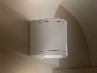 Direct-indirect light wall light RAGGIO