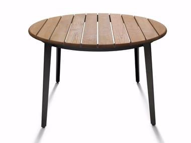 Tavolo da giardino in teak RAILWAY OUTDOOR