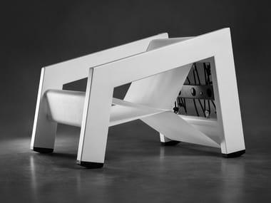 Poltrona da giardino reclinabile in alluminio RASHA