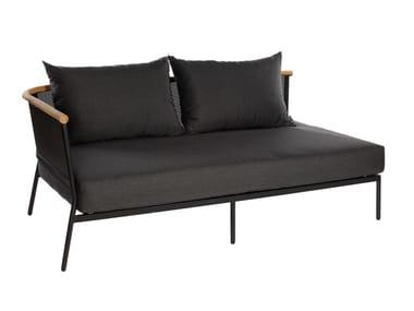 Aluminium garden sofa RIAD 2-Seater Sofa