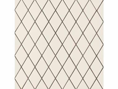 Revêtement de sol/mur en grès cérame ROMBINI LOSANGE WHITE GREEN
