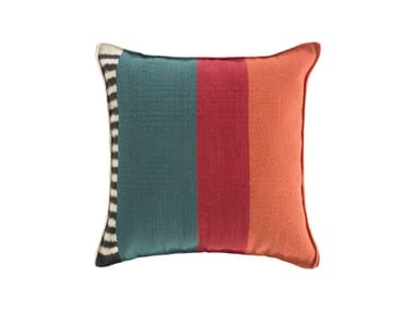 Square wool cushion RUSTIC CHIC | Square cushion