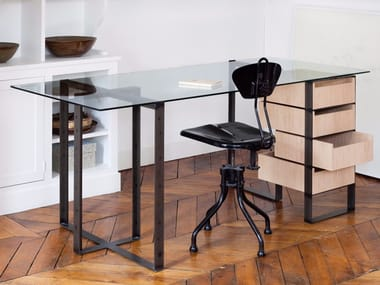 SÉVERIN 2 | Writing Desk With Drawers