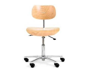 Bürostuhl design holz  S 197 R | Bürostuhl By WILDE+SPIETH Design Egon Eiermann