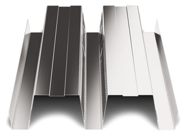 Corrugated and undulated sheet steel SAND150 CLS