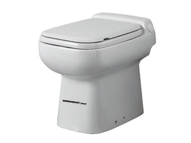 Toilets with waste macerator
