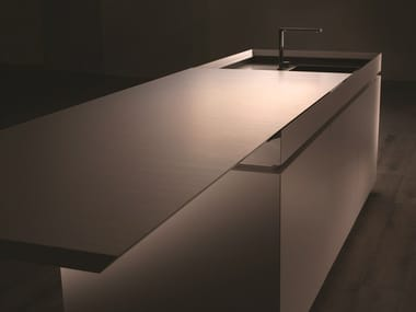 Hideaway stainless steel kitchen SEMPLICE #2