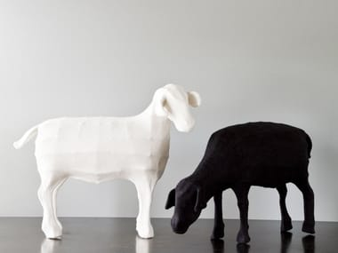 Wool felt sculpture SHEEP