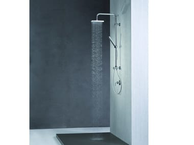 Colonna doccia a parete con deviatore con doccetta SHOWER SET | Colonna doccia a parete