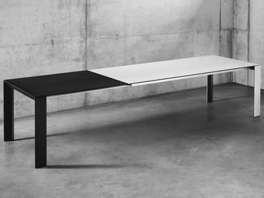Extending rectangular dining table SOMA TISCH | Extending table