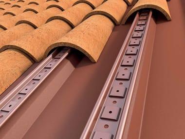 Sistema bajo teja/cubierta de metal SOTTOCOPPO