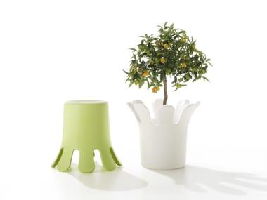 Tabouret / Cache-pot en polyéthylène SPLASH | Tabouret