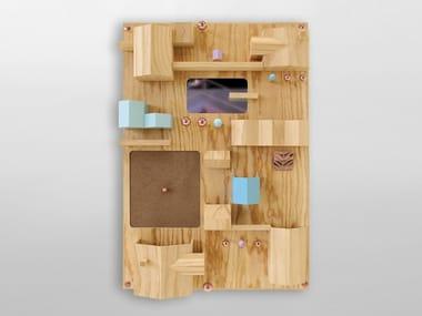 Mobile da ingresso in legno SUBURBIA