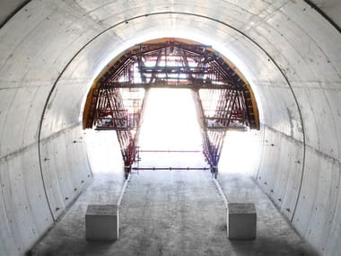 Special tunnel formwork