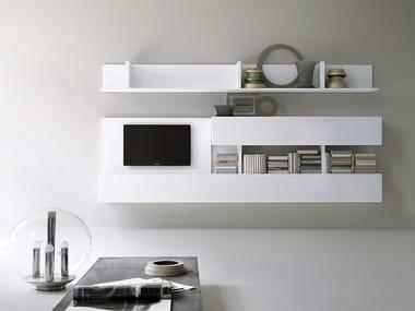Mueble modular de pared composable T030 | Mueble modular de pared