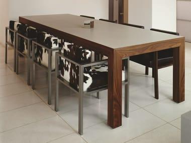Walnut table T18 SOHO XL
