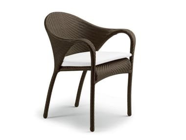 Garden chair with armrests TANGO | Garden chair