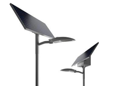 LED solar powered street lamp TEAR LIGHT | Solar powered street lamp