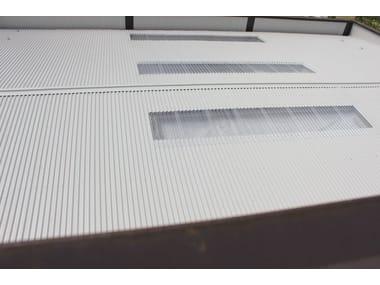 Panel metálico aislante para cubierta TEK 28 PIANO