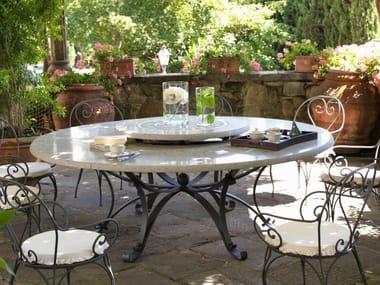 Round Stone Garden Table THOR | Round Table
