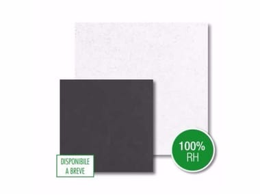 Sound absorbing rock wool ceiling tiles TOPIQ® Efficent pro