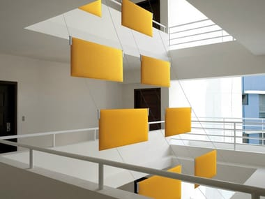 Hanging acoustical panels TRA