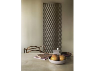 Wall-mounted decorative radiator TRAME