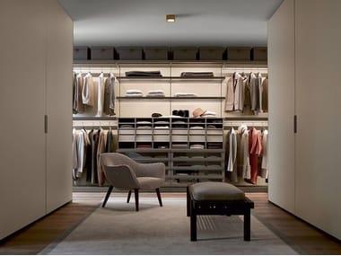 Sectional walk-in wardrobe UBIK