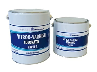 Enamel for finish swimming pools VITROX-VARNISH VV300-C COLORATO