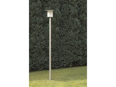 Lampione da giardino in acciaio inox VOLCANO FL