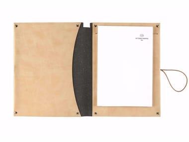 A5 notepad folder in nubuck VT A5/D
