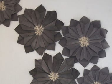 Wool felt decorative acoustical panel WALL FLORAL UNITS