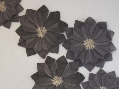 Wool felt decorative acoustical panels WALL FLORAL UNITS