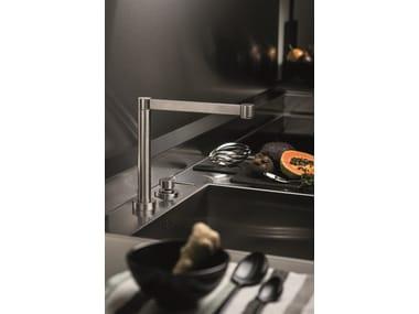 Miscelatore da cucina a due fori da piano X-TREND KITCHEN | Miscelatore da cucina a due fori